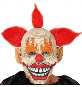 Maschera sinistro pagliaccio assassino per poter completare il tuo costume Halloween e Carnevale