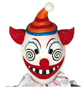 Maschera clown Terror Fortnite per poter completare il tuo costume Halloween e Carnevale