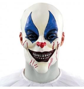 Maschera pagliaccio horror per poter completare il tuo costume Halloween e Carnevale