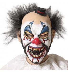 Maschera da clown terrificante