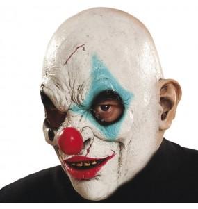 Maschera Pagliaccio zombi per poter completare il tuo costume Halloween e Carnevale