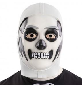Maschera Skull Trooper di Fortnite per poter completare il tuo costume Halloween e Carnevale