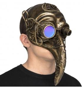 Maschera Steampunk Bird per poter completare il tuo costume Halloween e Carnevale