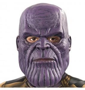 Maschera Thanos Infinity War per bambini per poter completare il tuo costume Halloween e Carnevale