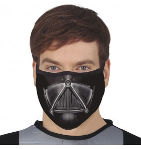 Mascherina Darth Vader di protezione per adulti
