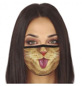 Mascherina Gatto di protezione per adulti
