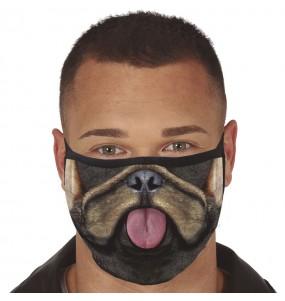 Mascherina Cane Bulldog di protezione per adulti