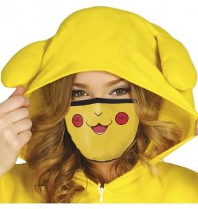 Mascherina Pikachu di protezione per adulti