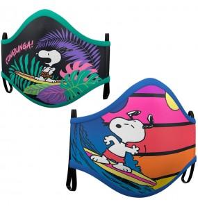 Mascherina Snoopy di protezione per adulti