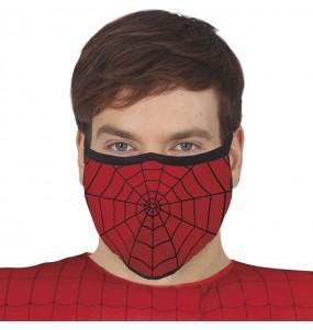 Mascherina Spiderman di protezione per adulti