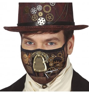 Mascherina Steampunk di protezione per adulti