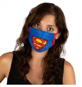 Mascherina Superman di protezione per adulti