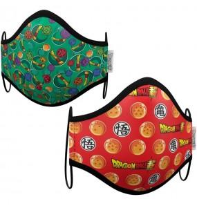 Mascherina Dragon Ball Z di protezione per bambini