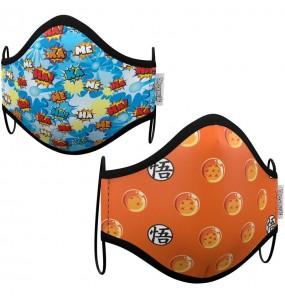 Mascherina Dragon Ball di protezione per bambini