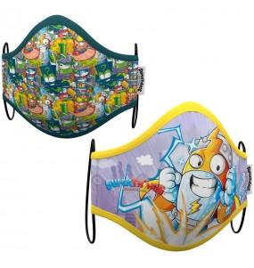 Mascherina Kid Kazoom SuperZings di protezione per bambini