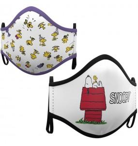 Mascherina Snoopy House di protezione per bambini