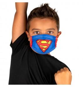 Mascherina Superman di protezione per bambini
