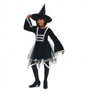 Vestito Strega spiritosa bambine per una festa ad Halloween