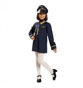 Travestimento Assistente di volo bambina che più li piace