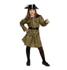 Travestimento Guardia Civile bambina che più li piace