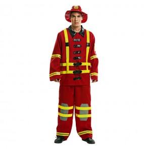 Travestimento Pompiere adulti per una serata in maschera