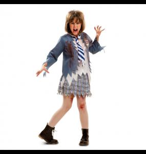 Travestimento Scolara Zombie bambina che più li piace
