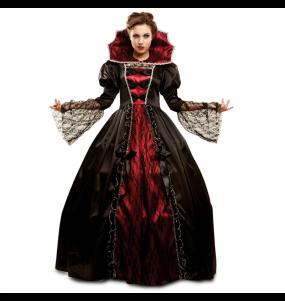 Costume Vampira cattiva donna per una serata ad Halloween