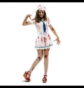 Costume Marinaia Zombie donna per una serata ad Halloween