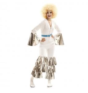 Travestimento Disco Fever donna per divertirsi e fare festa