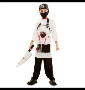 Travestimento Dottore killer bambini per una festa ad Halloween