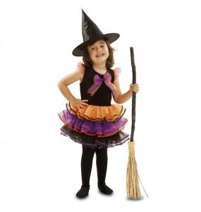 Vestito Strega fantasia bambine per una festa ad Halloween