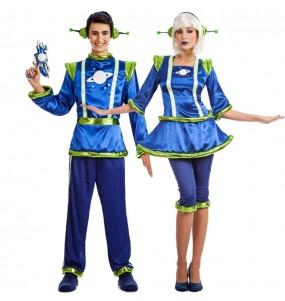 Travestimenti coppia alieni divertenti per travestirti con il tuo partner