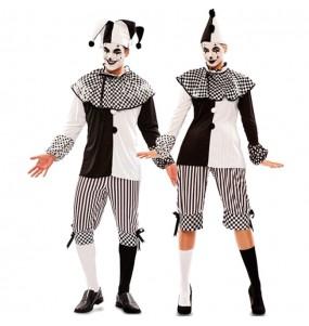 Travestimenti coppia arlecchino circo divertenti per travestirti con il tuo partner