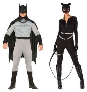 L'originale e divertente coppia di Batman e Catwoman per travestirsi con il proprio compagno