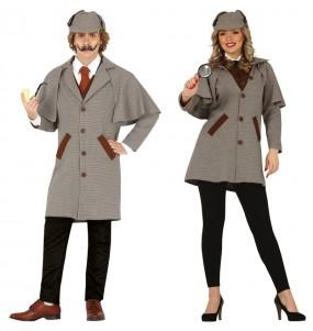 L'originale e divertente coppia di Sherlock Holmes per travestirsi con il proprio compagno