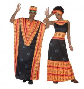 Travestimenti coppia Africani divertenti per travestirti con il tuo partner