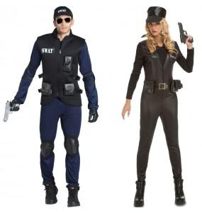L'originale e divertente coppia di Agenti SWAT per travestirsi con il proprio compagno