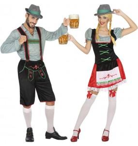 Costumi di coppia Tedeschi festa della birra