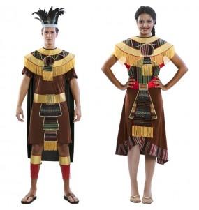 L'originale e divertente coppia di Aztechi per travestirsi con il proprio compagno
