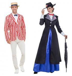 L'originale e divertente coppia di Bert e Mary Poppins per travestirsi con il proprio compagno