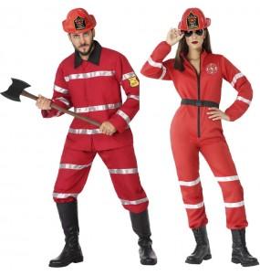 Costumi di coppia Pompieri capo