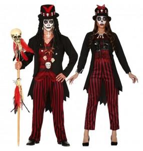 Travestimenti coppia Sciamano Voodoo divertenti per travestirti con il tuo partner