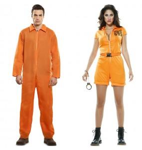 L'originale e divertente coppia di Prigionieri Guantanamo per travestirsi con il proprio compagno
