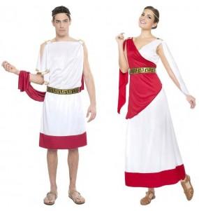 L'originale e divertente coppia di Dei greci per travestirsi con il proprio compagno