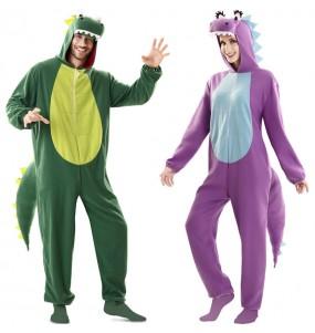 L'originale e divertente coppia di Dragoni per travestirsi con il proprio compagno