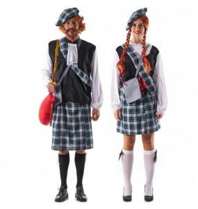 L'originale e divertente coppia di Scozzesi celtici per travestirsi con il proprio compagno