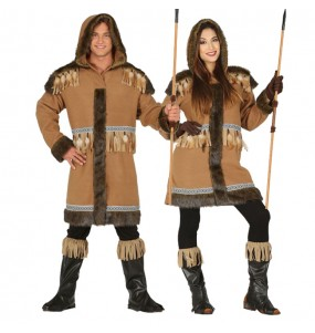 L'originale e divertente coppia di Eschimesi Polo Nord per travestirsi con il proprio compagno