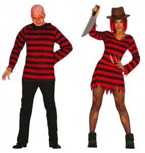 L'originale e divertente coppia di Freddy Krueger per travestirsi con il proprio compagno