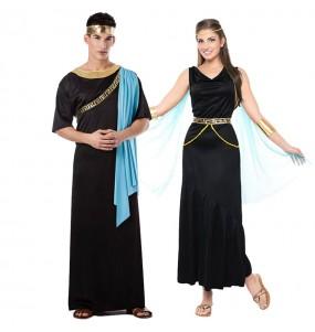 Travestimenti coppia greci neri divertenti per travestirti con il tuo partner