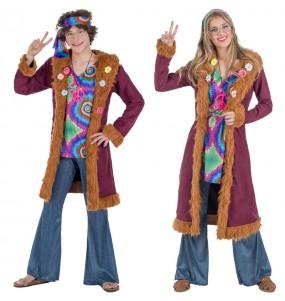 L'originale e divertente coppia di Hippies Deluxe per travestirsi con il proprio compagno